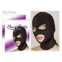 Μαύρη στενή μάσκα που καλύπτει σχεδόν ολόκληρο το πρόσωπο