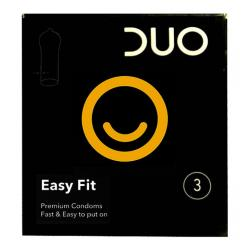 Προφυλακτικά DUO εύκολα και γρήγορα στην εφαρμογή