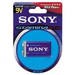 Sony Alcaline Αλκαλική μπαταρία 9V μακράς απόδοσης.